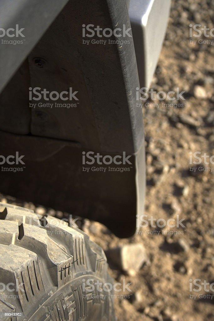 Off road vehicle stock photo