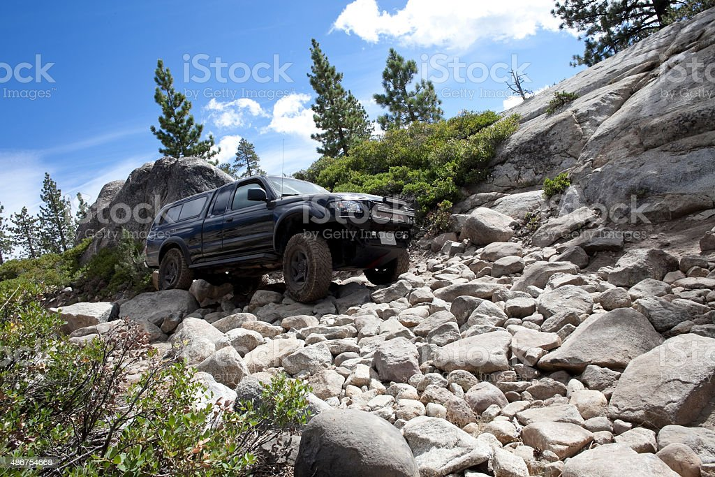 Off roading excursion stock photo