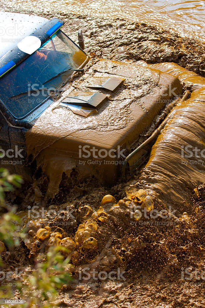 Off roading thrill royalty-free stock photo