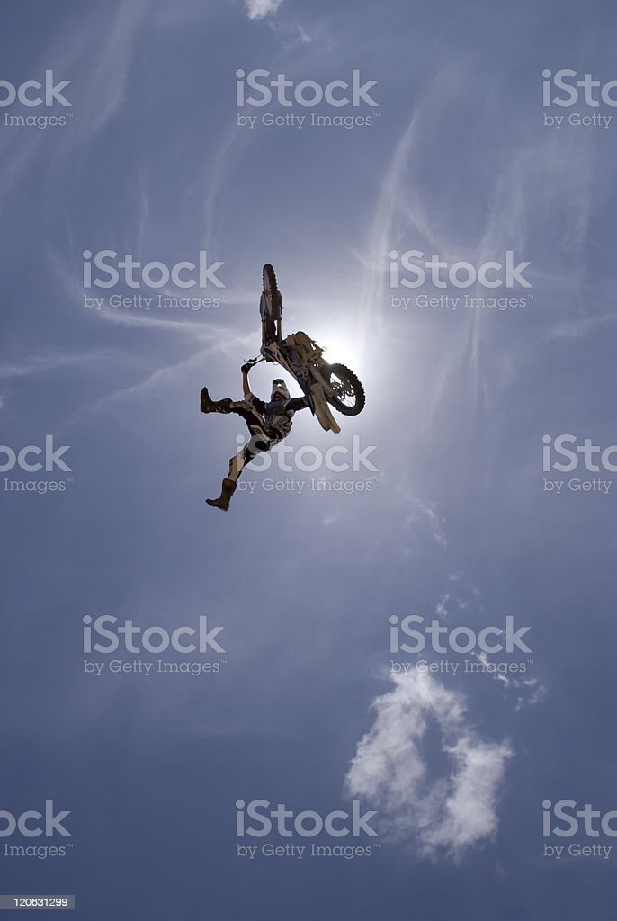 Off side Indy Grab stock photo