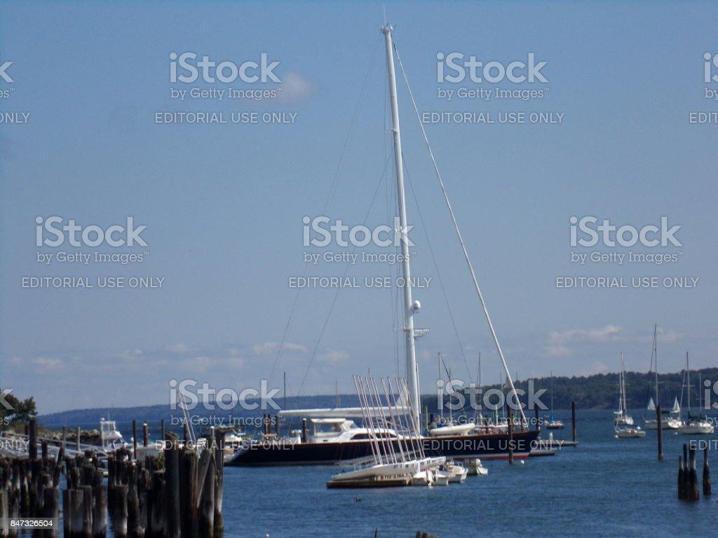 Off the Coast stock photo