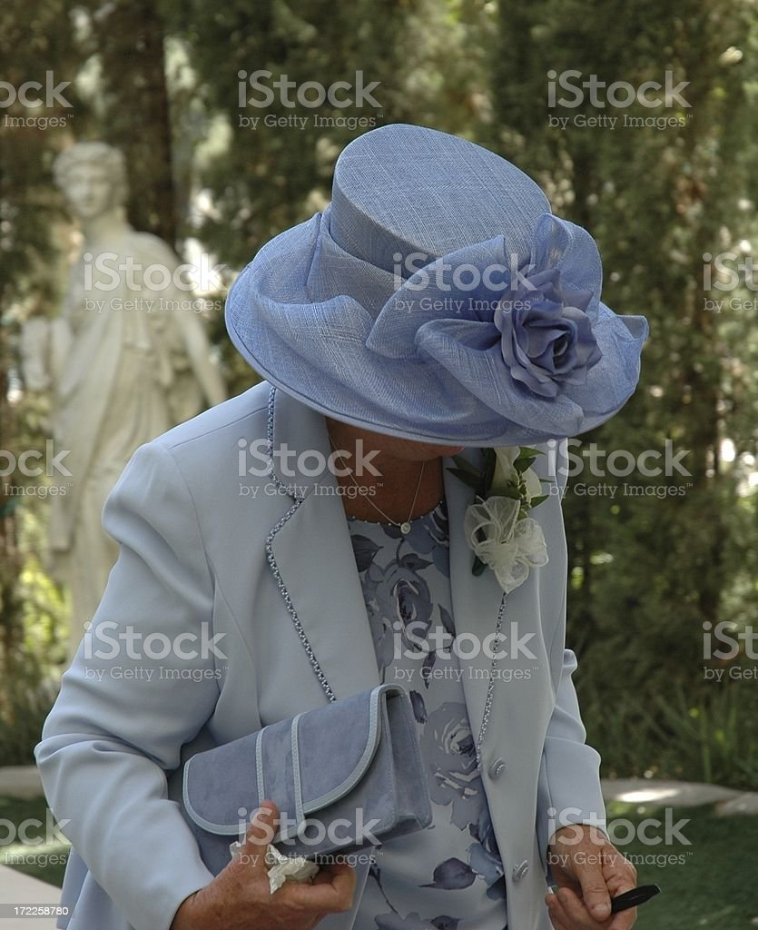 Off to the wedding royalty-free stock photo