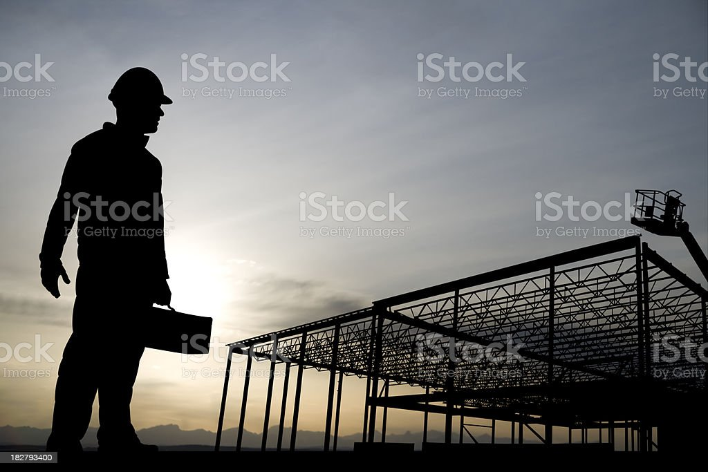 Off to Work stock photo
