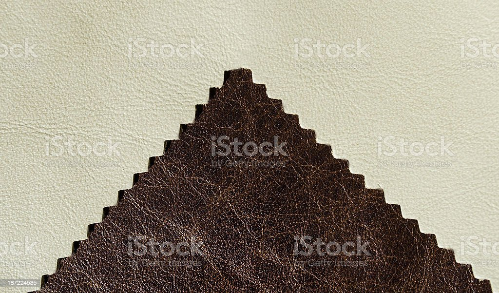 off white and aged leather royalty-free stock photo