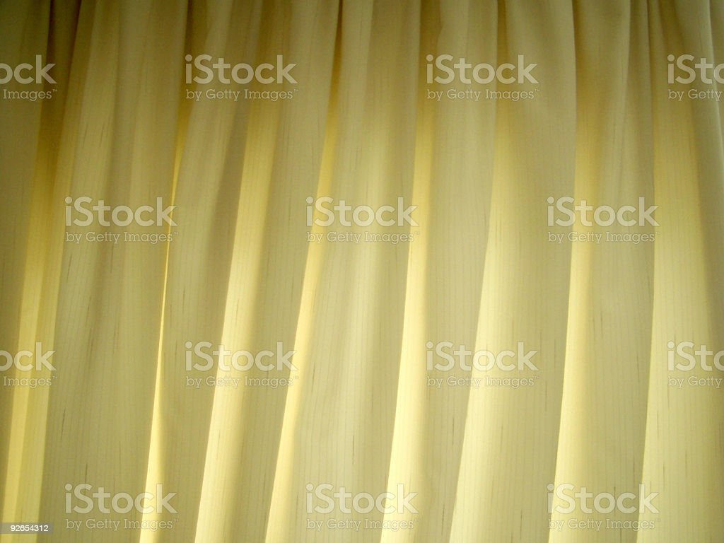 Off white curtains royalty-free stock photo