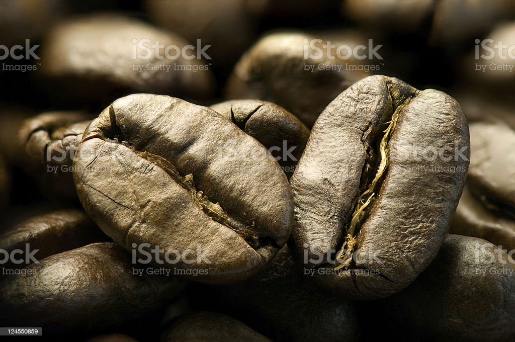 ?offee beans. royalty-free stock photo