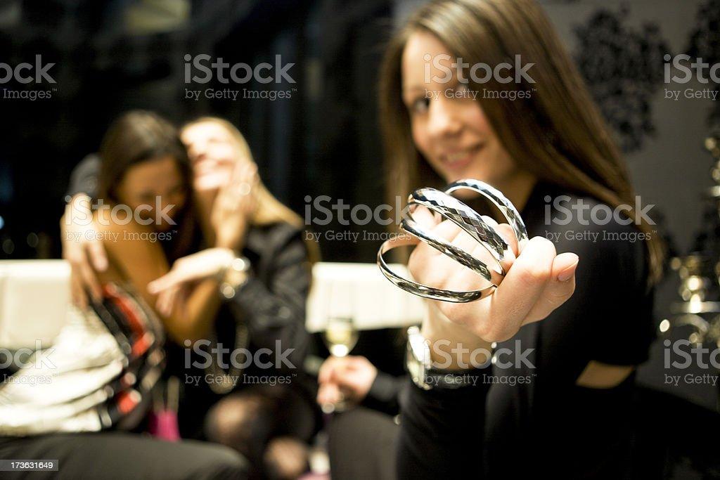 Offering bracelet royalty-free stock photo