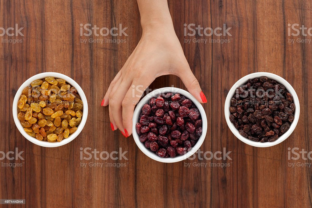 Offering dried fruits stock photo