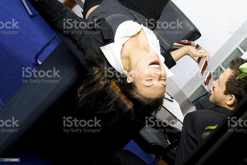 office affair royalty-free stock photo