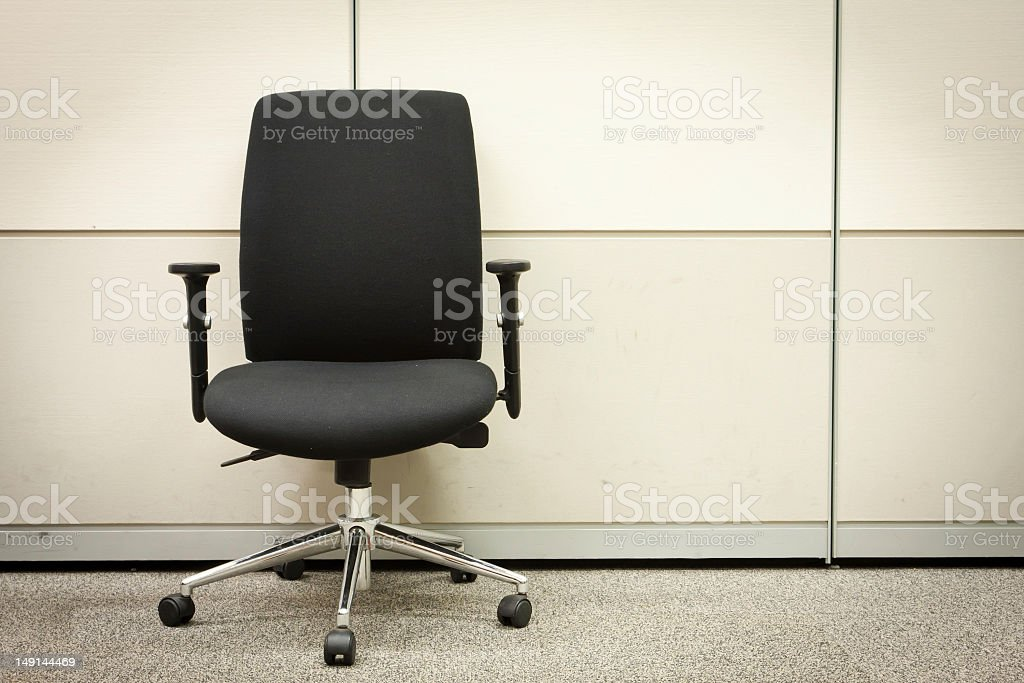Office armchair stock photo
