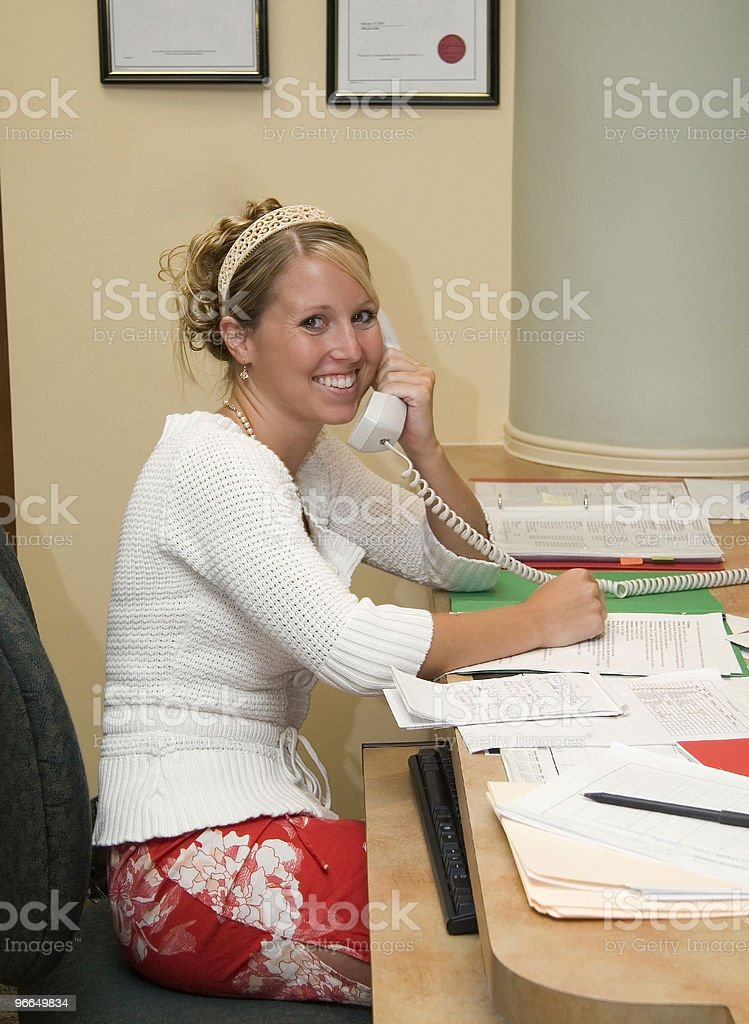 office assistant royalty-free stock photo