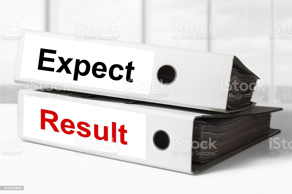 office binders expect result stock photo