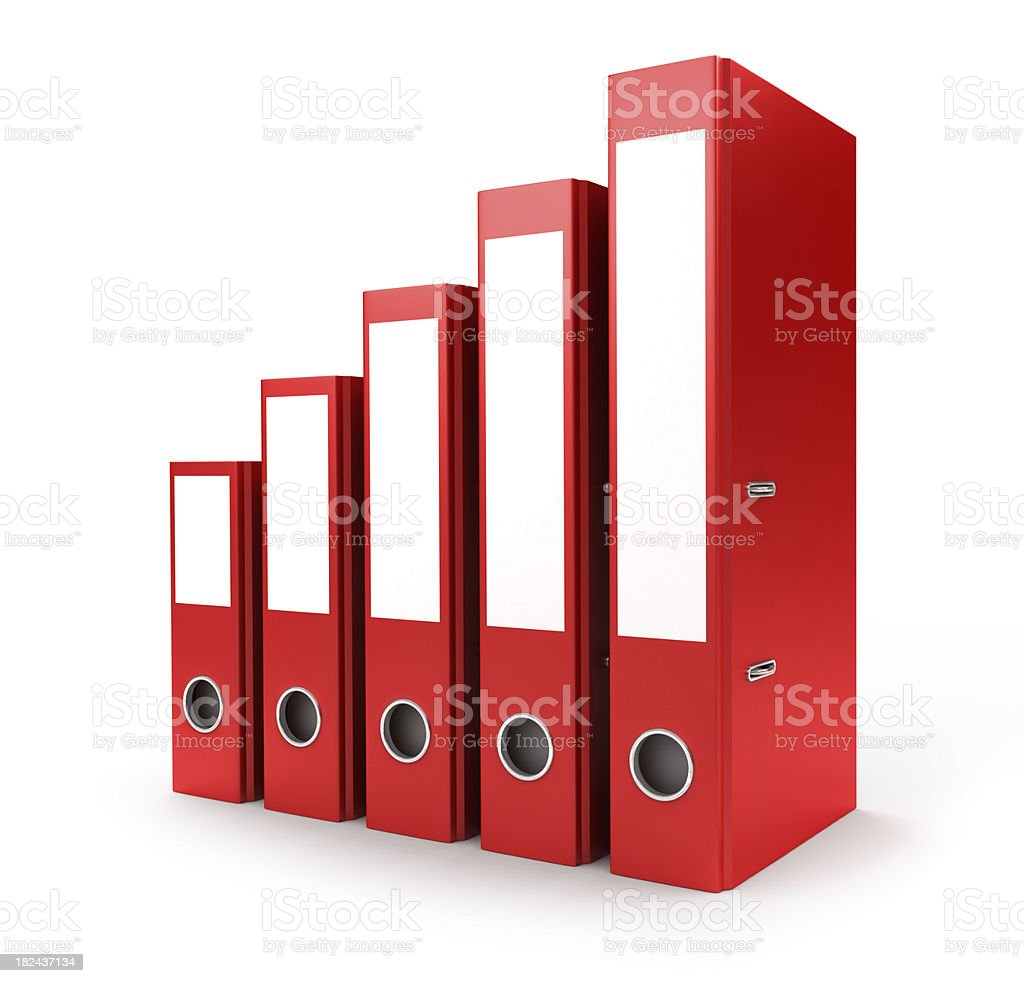 office binders royalty-free stock photo