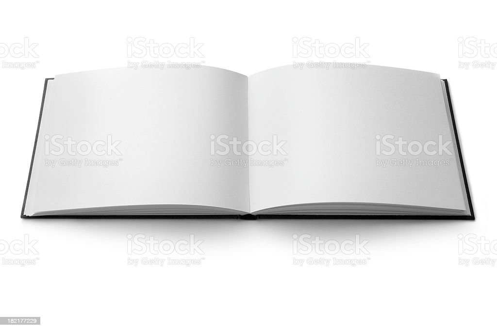 Office: Black Book stock photo