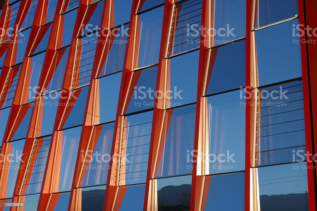 Office block - detail royalty-free stock photo