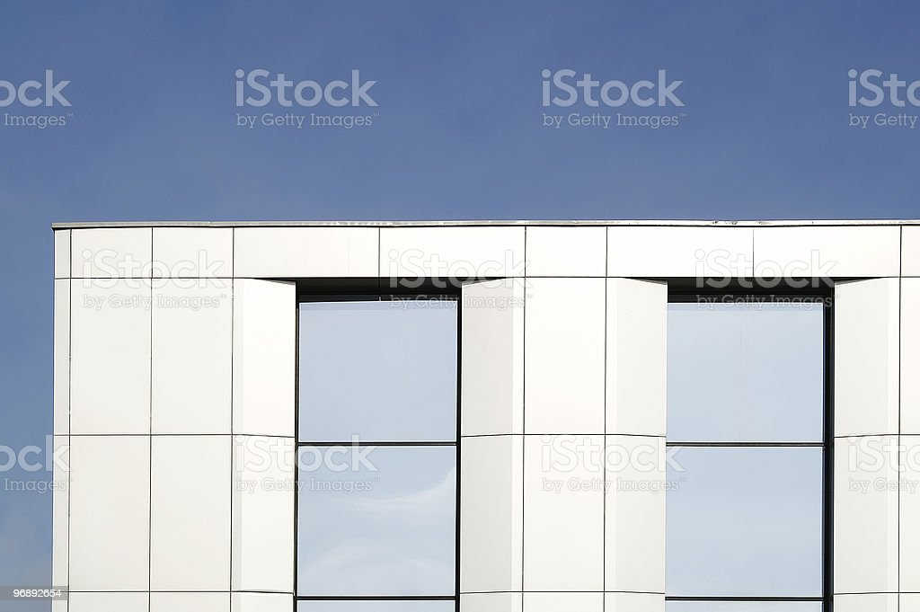 Office block royalty-free stock photo