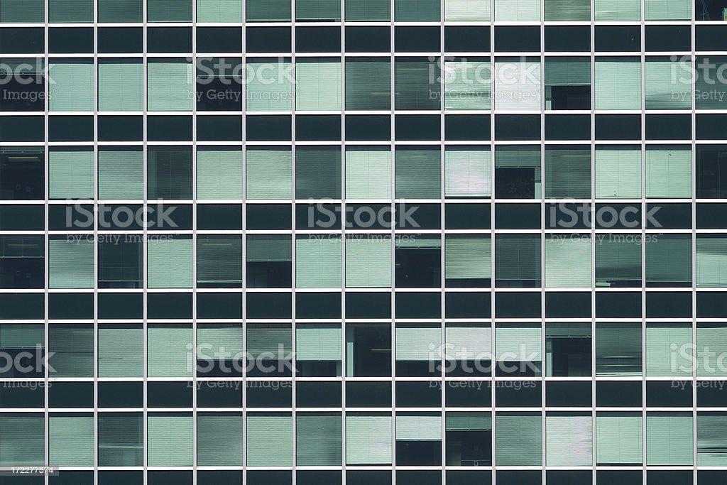 Office block windows royalty-free stock photo