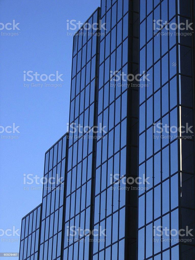 office blocks stock photo