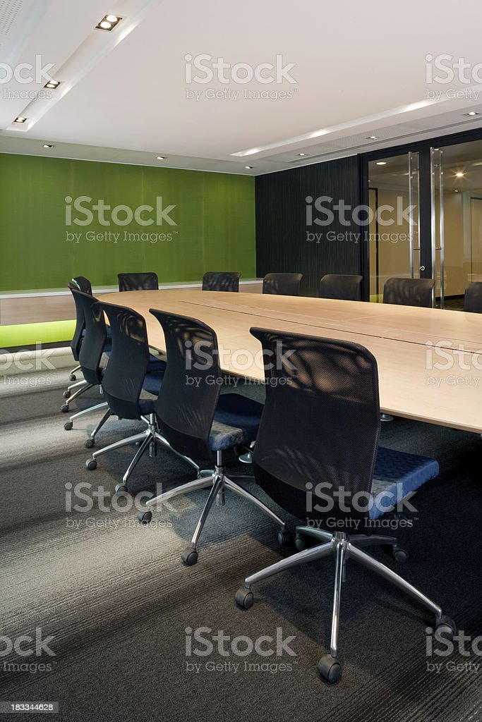 Office Board Room royalty-free stock photo