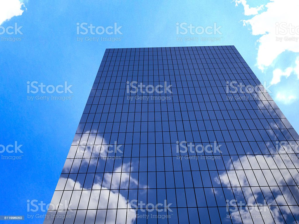 Office Building and Skyscraper stock photo