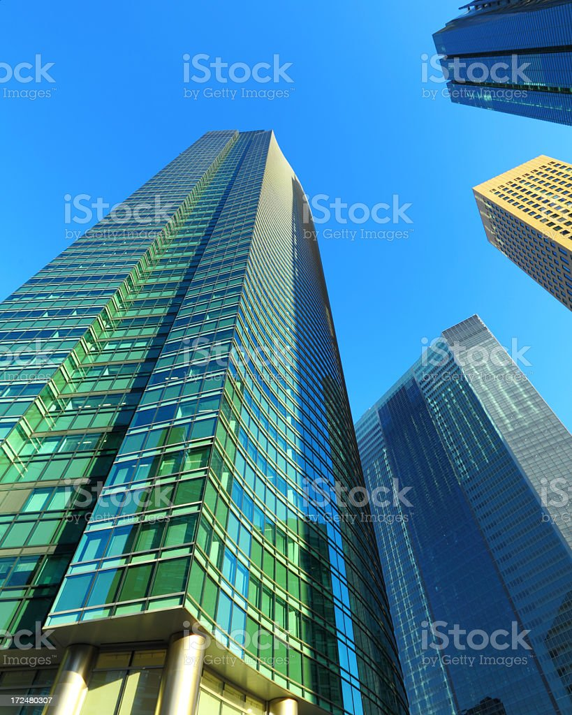 Office building block royalty-free stock photo