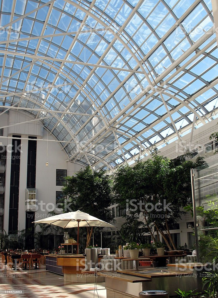 Office building cafe royalty-free stock photo
