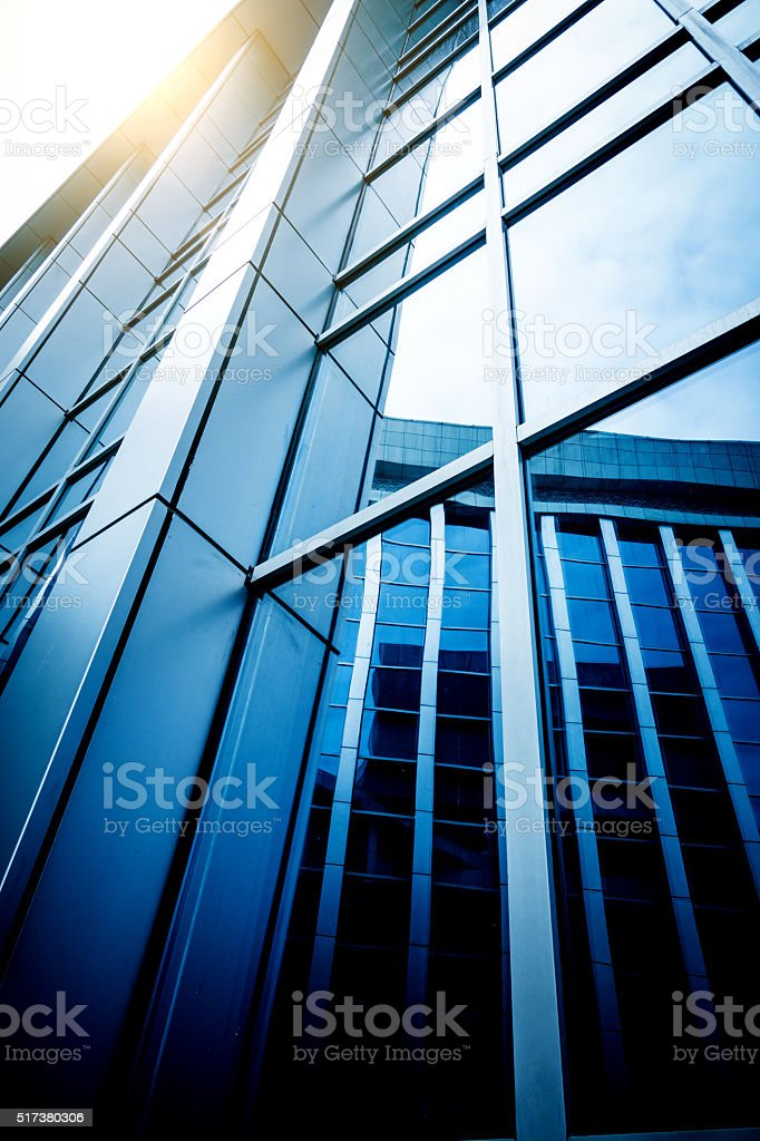 office building close up stock photo