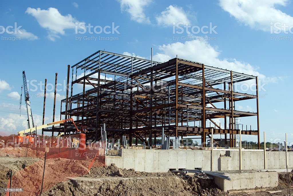 Office Building Construction royalty-free stock photo
