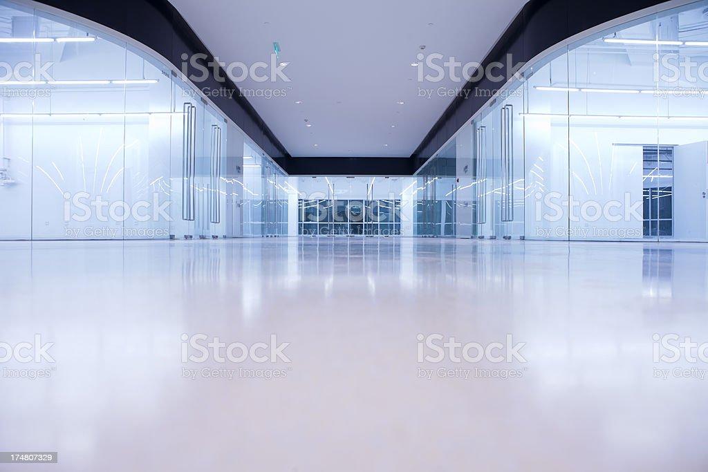 Office building - corridor royalty-free stock photo
