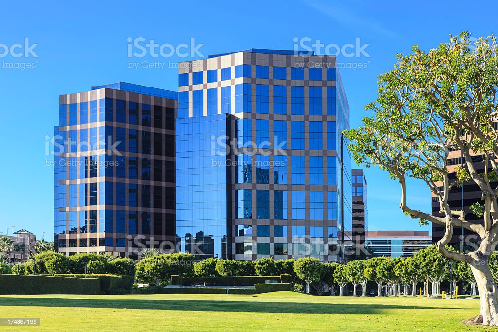 Office building exterior royalty-free stock photo