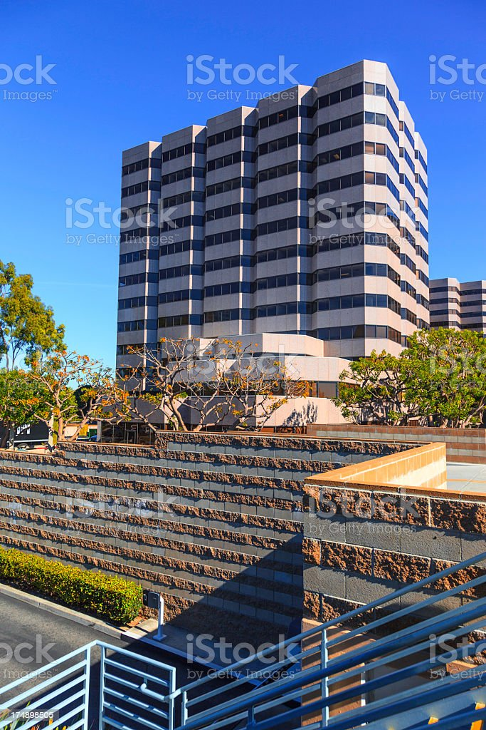 Office building exterior stock photo
