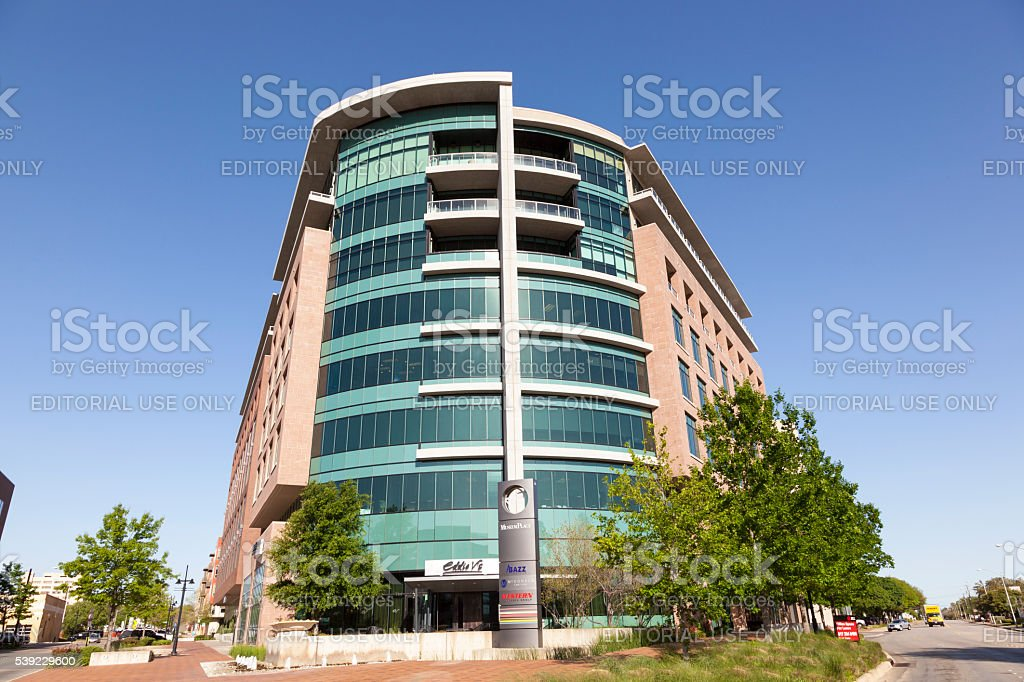 Office Building in Fort Worth city stock photo