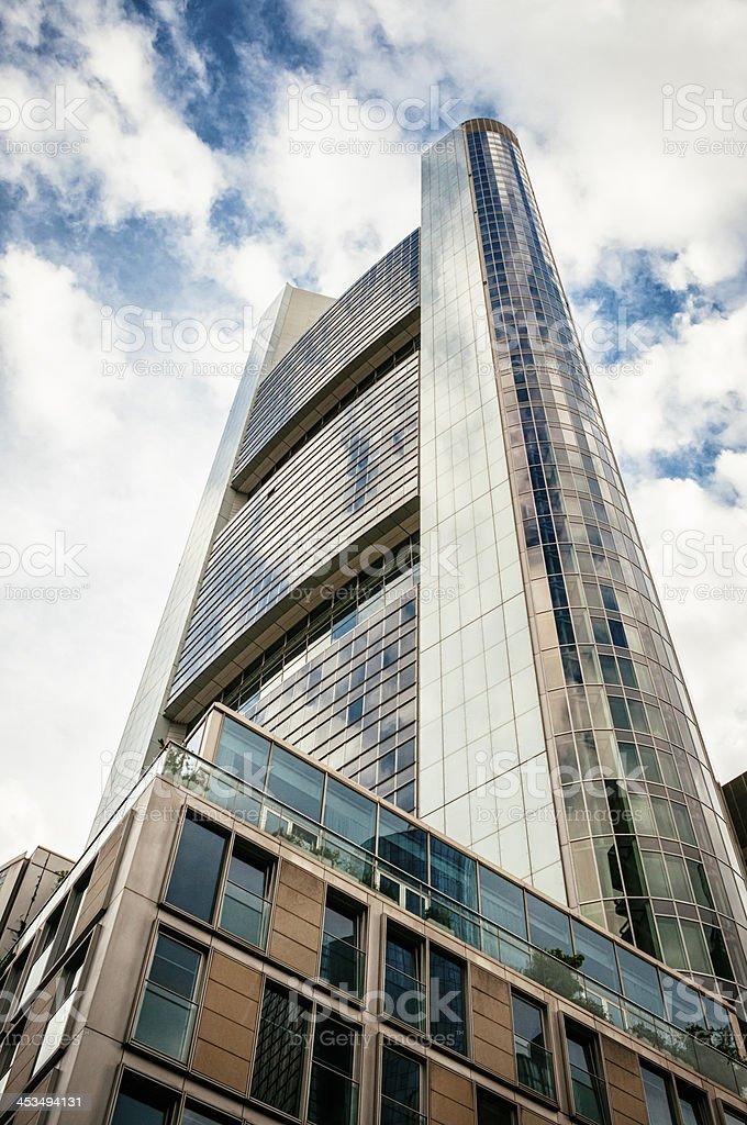 Office building in Frankfurt am Main royalty-free stock photo