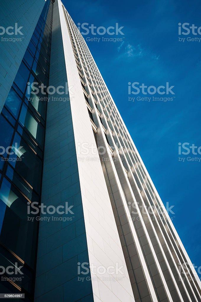 Office building in Frankfurt am Main stock photo