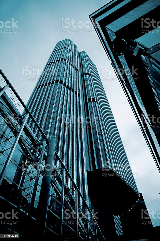 Office Building in London royalty-free stock photo