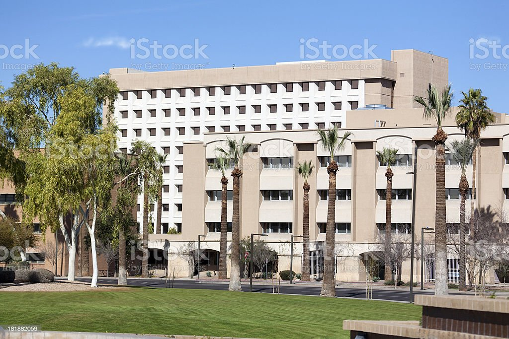 Office building in Phoenix, Arizona royalty-free stock photo