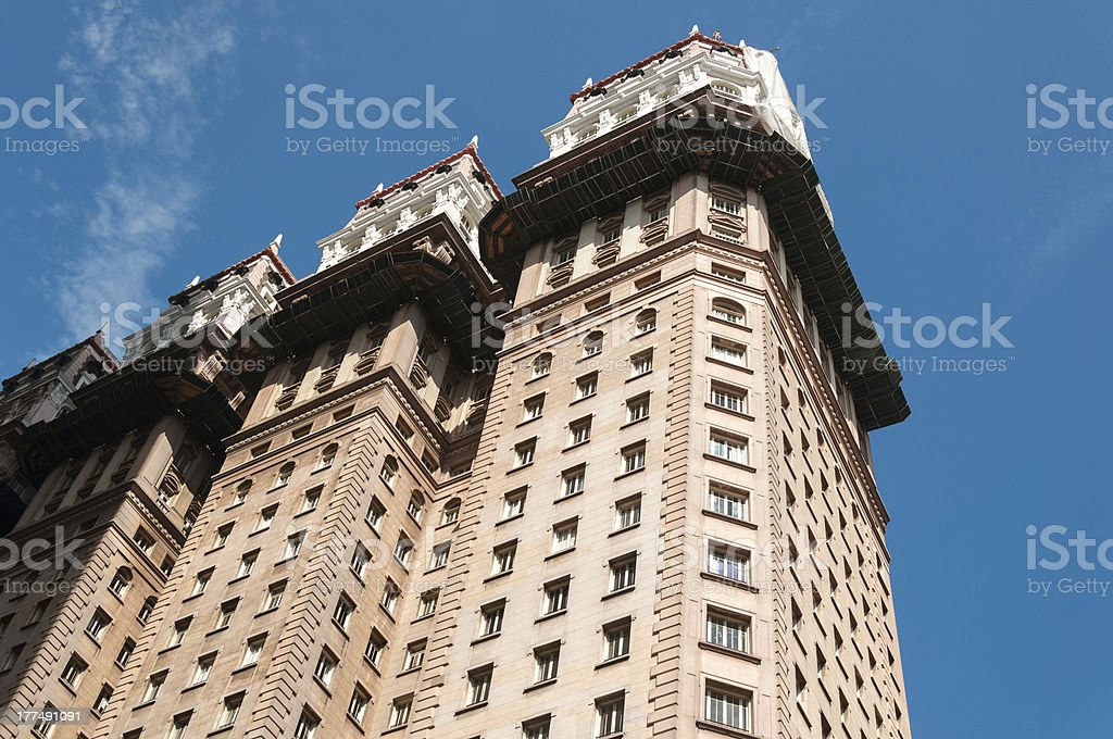 Office building in Sao Paulo. stock photo