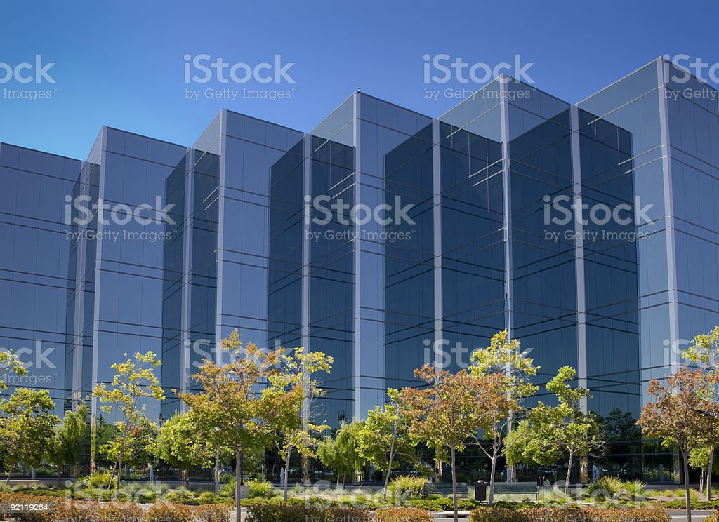 Office Building In Silicon Valley stock photo