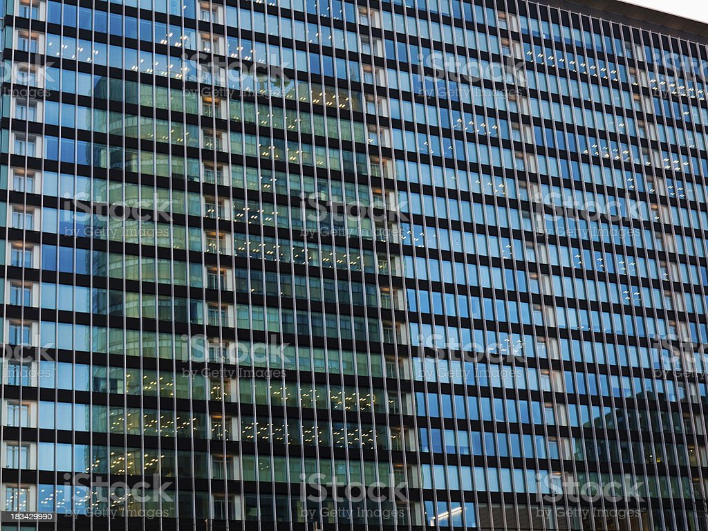 Office Building in Tokyo royalty-free stock photo