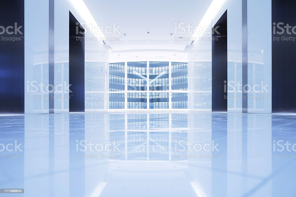 Office building - Lobby royalty-free stock photo