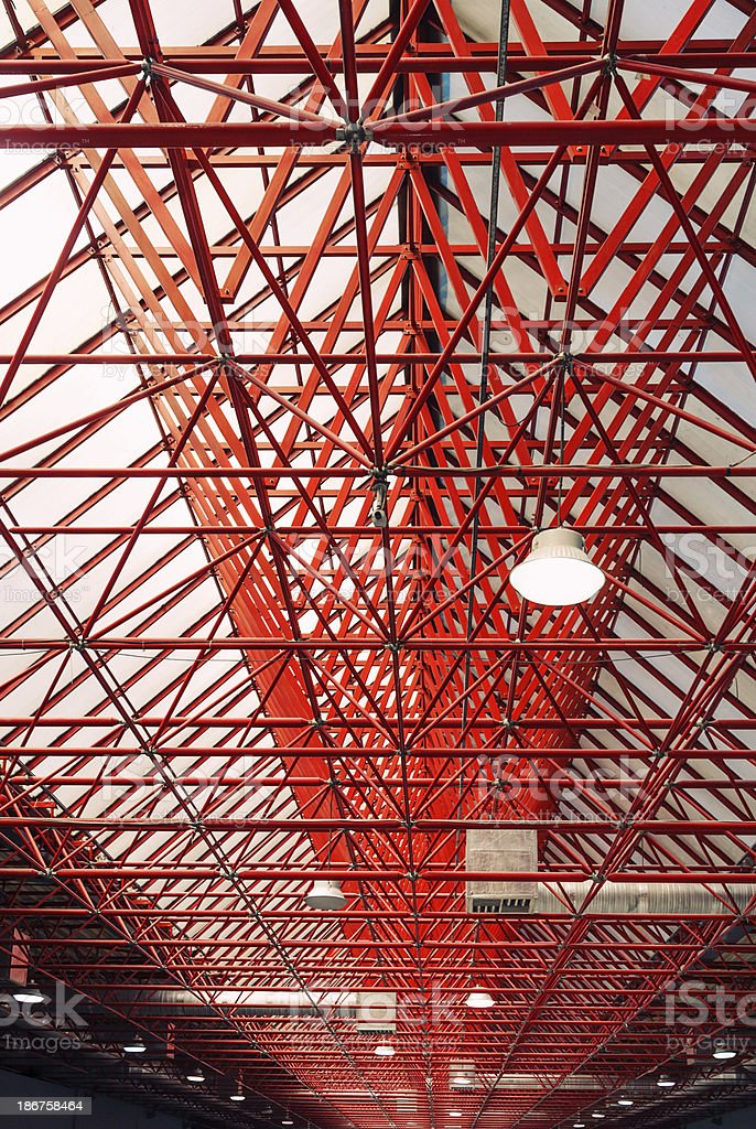 Office Building - Metal Roof royalty-free stock photo