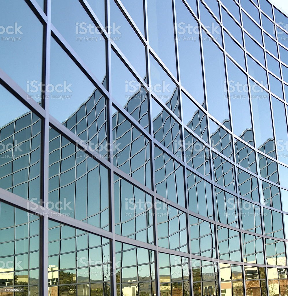 Office Building Mirror royalty-free stock photo