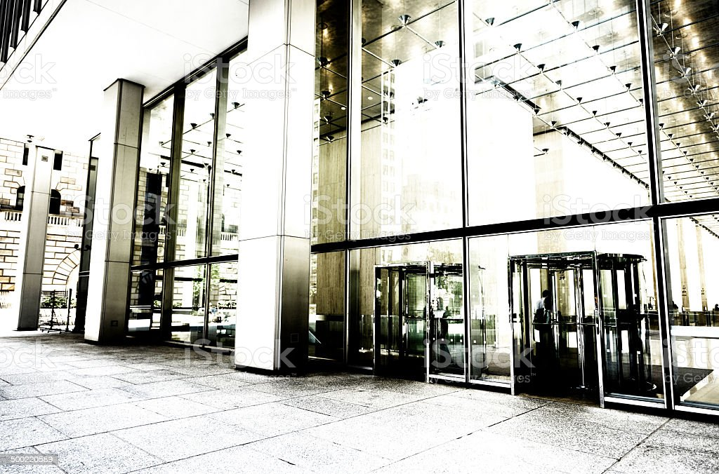 Office Building, NYC. royalty-free stock photo
