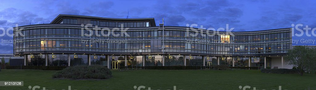 Office Building Panorama royalty-free stock photo