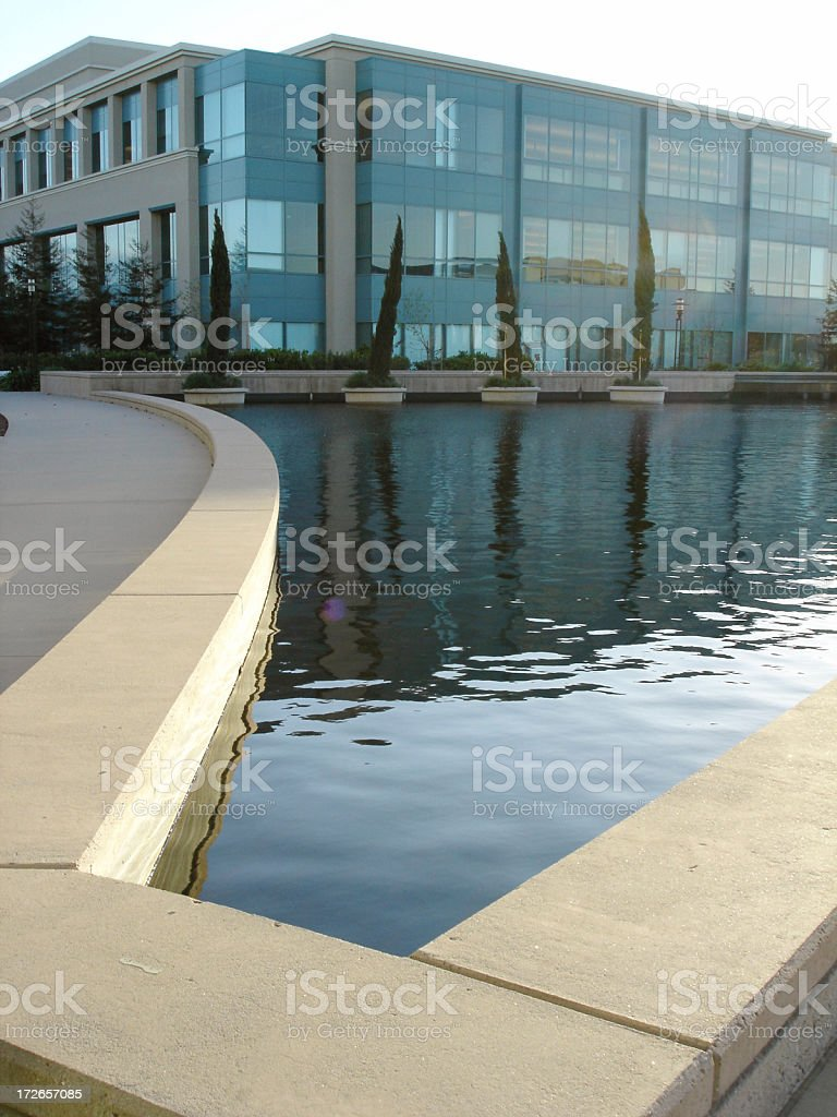 Office Building Perspective 2 royalty-free stock photo