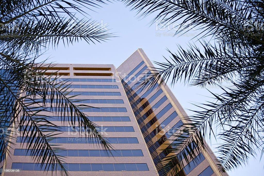 Office Building Phoenix Arizona royalty-free stock photo