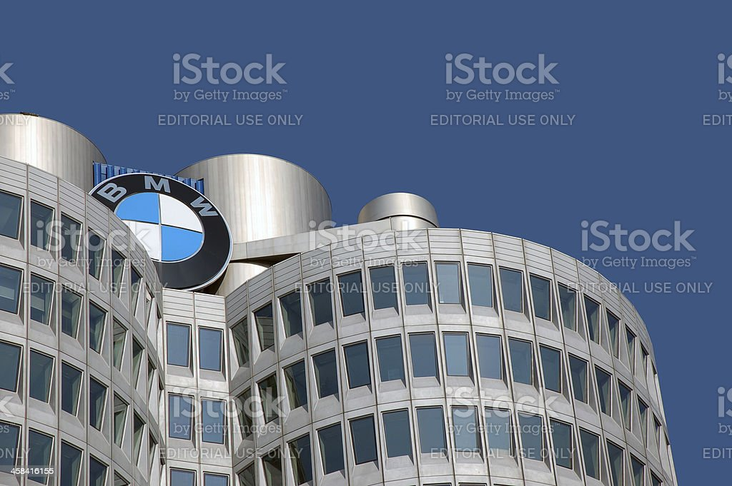 BMW office building royalty-free stock photo