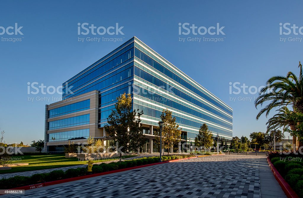 Office Building stock photo