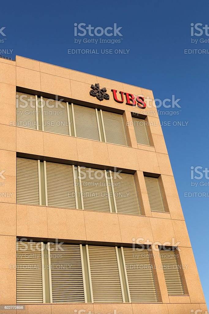 UBS office building stock photo