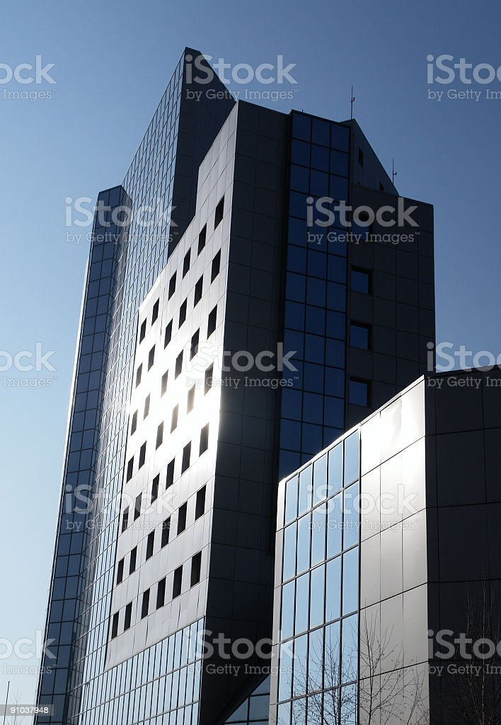 Office building series royalty-free stock photo